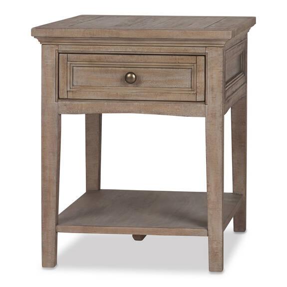 Parker Side Table -Heron Sand