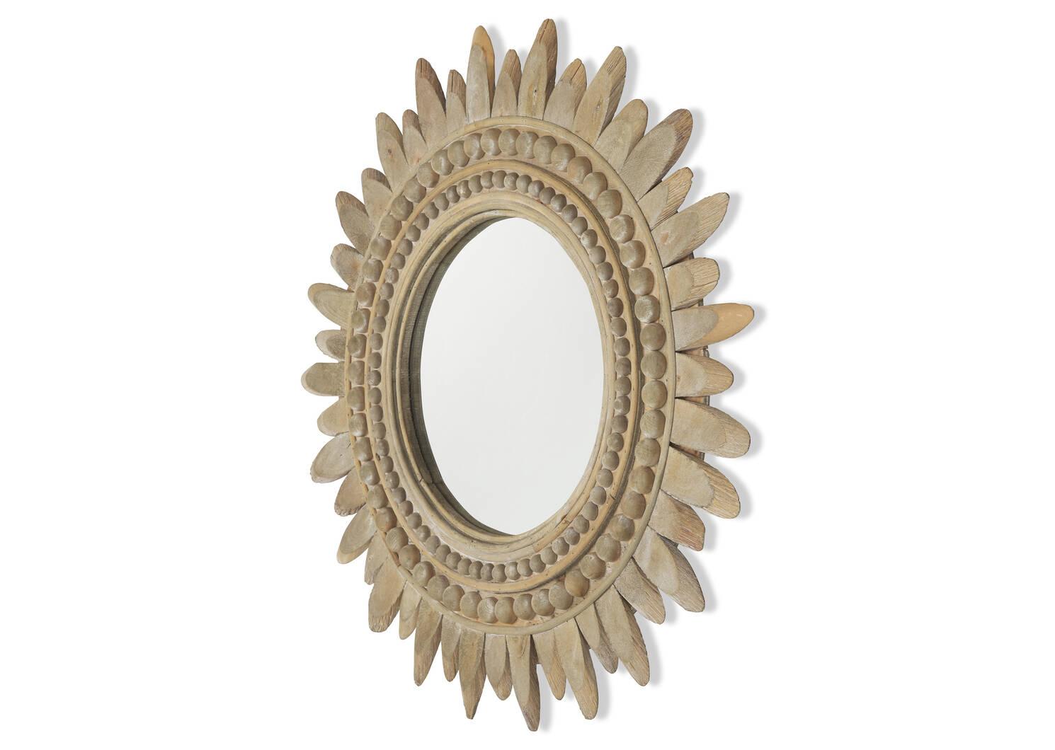 Miroir mural Soleil