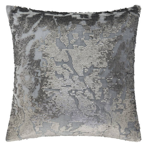 Eugenie Sequin Toss 20x20 Silver