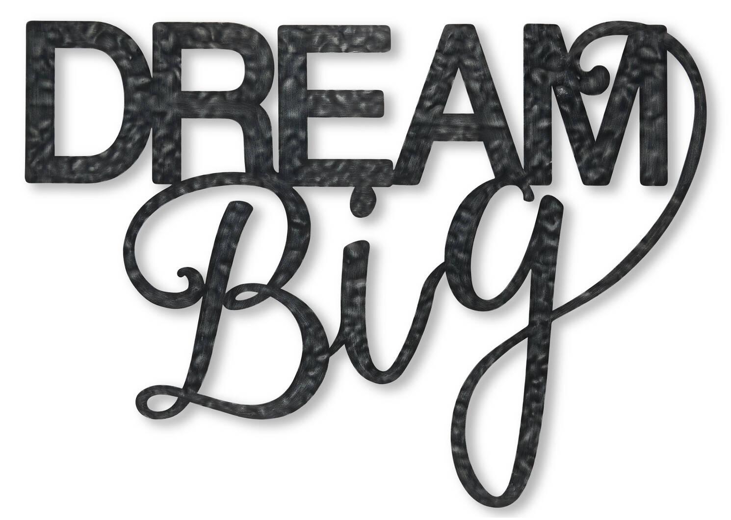 Dream Big Wall Decor