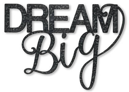 Dream Big Wall Decor