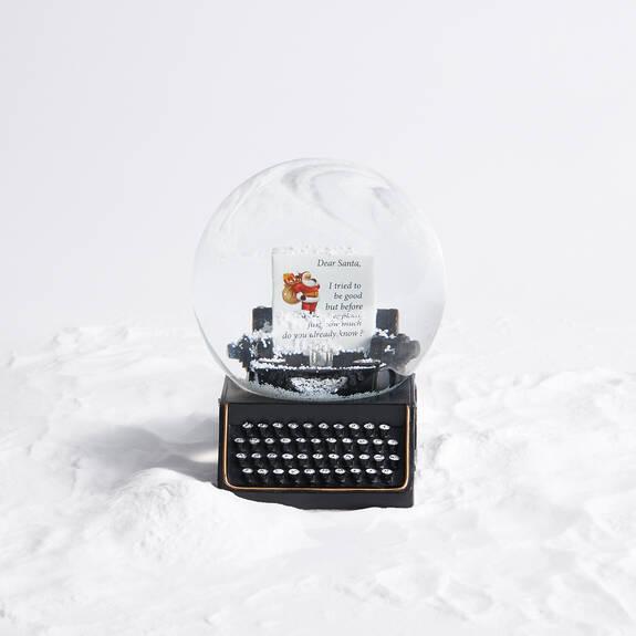 Boule à neige Dear Santa