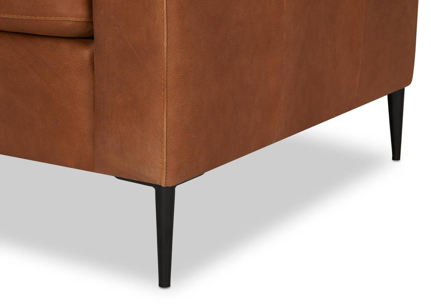 Lucca Custom Leather Armchair