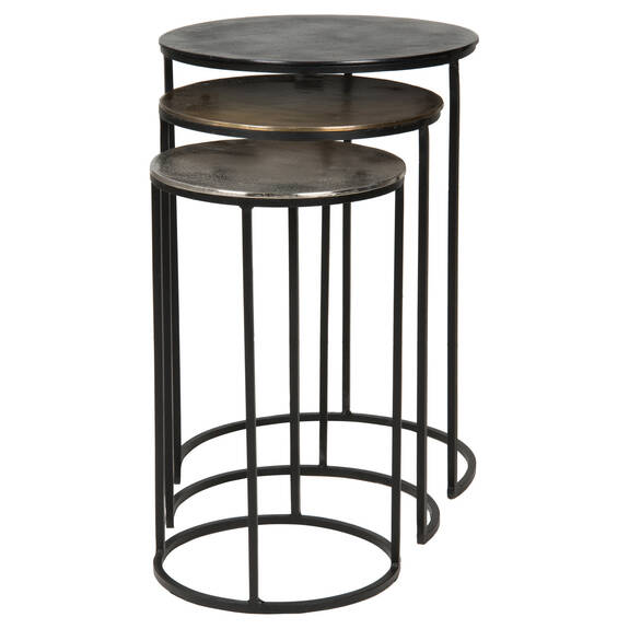 Torres Nesting Tables -Bronze