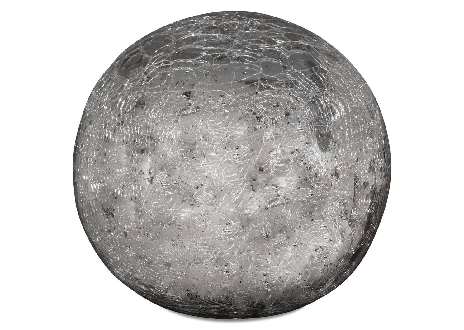 Boules décoratives Donatella -argentées