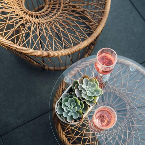 Shailene Wine Glass Clear