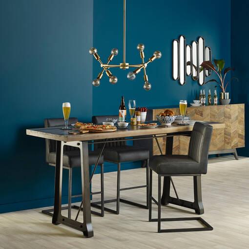 Carrara Bowls & Slate Tray Set Rectangle