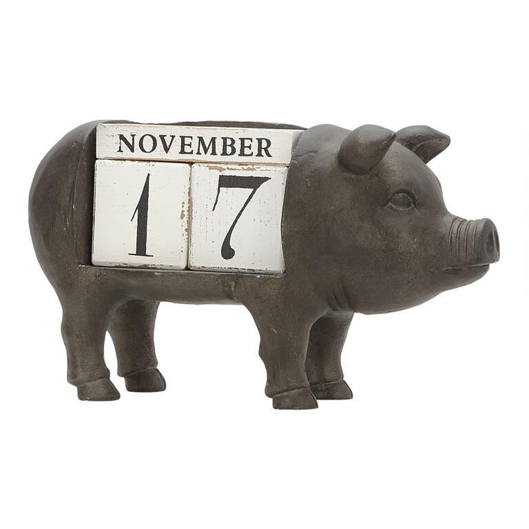 Peggy Pig Perpetual Calendar