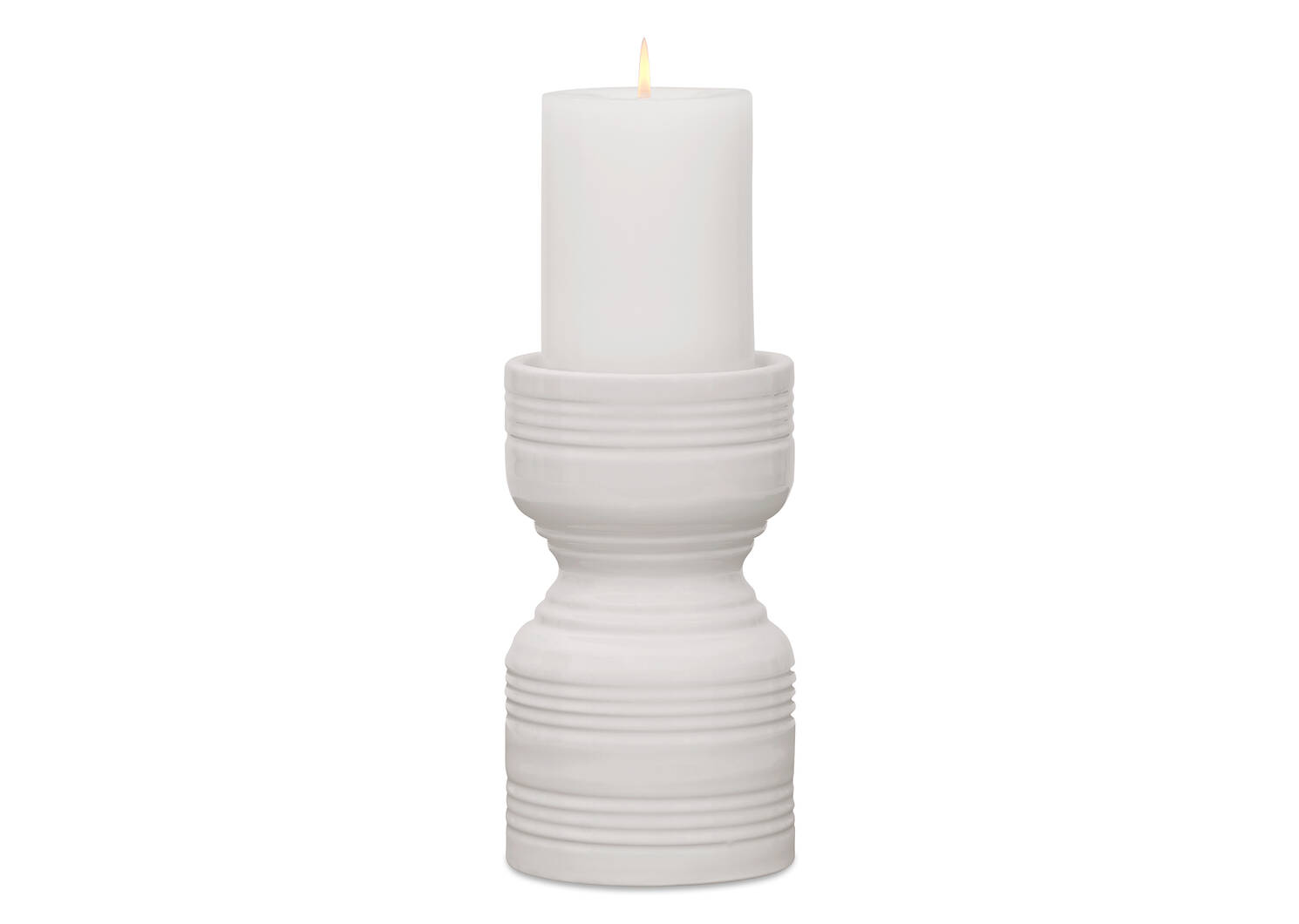 Rife Candle Holder Small Milk
