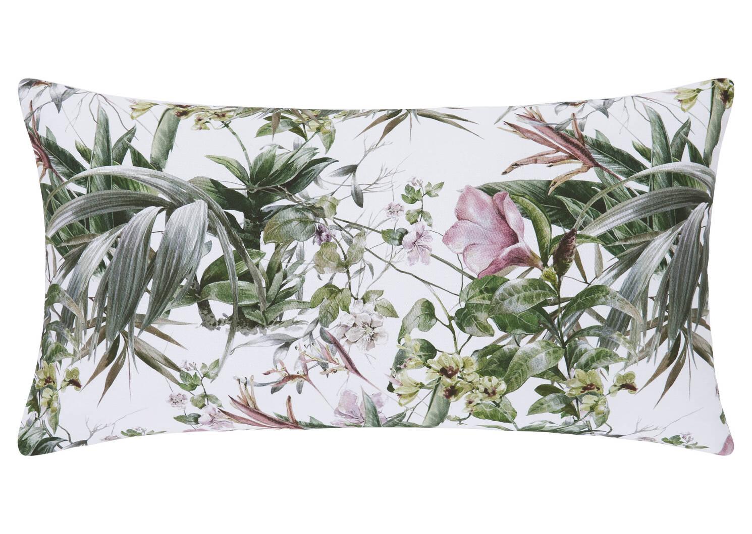 Spirited Floral Toss 12x22 Wht/Sage/P