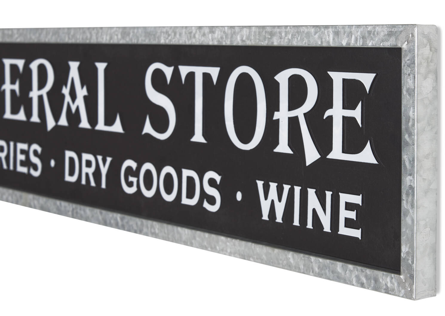 General Store Wall Plaque