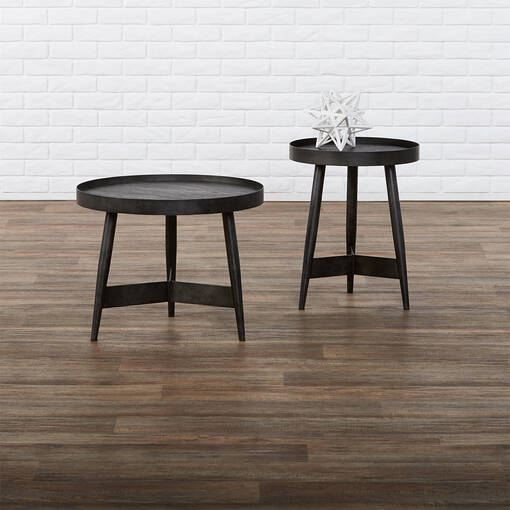 "Gibson Accent Table 19"" -Espresso Oak"