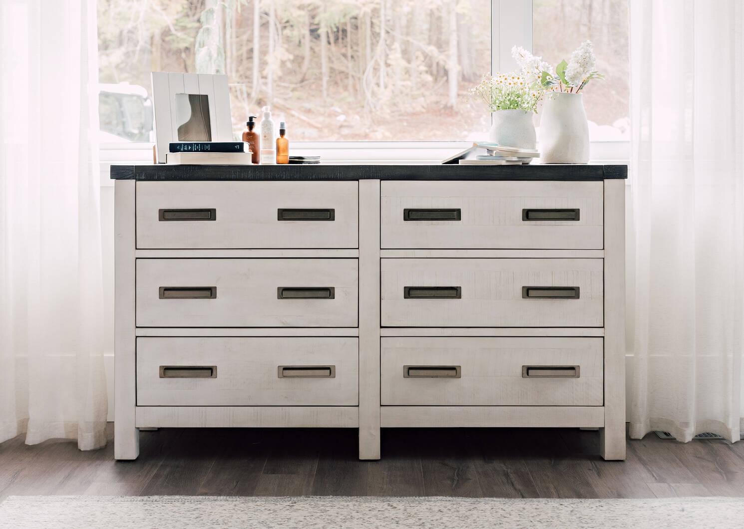 Fairmont 6 Drawer Dresser -Meyer Dove