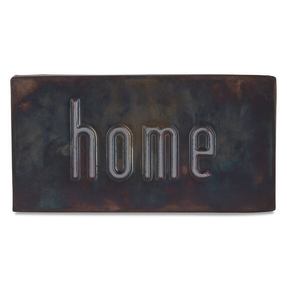Home Block Dark Bronze