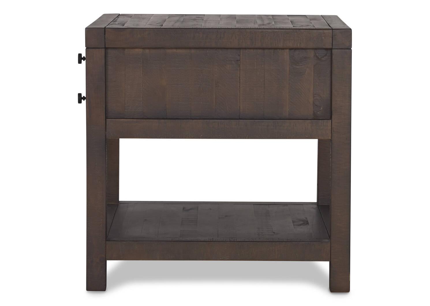 Lynncroft Side Table -Wyatt Sable