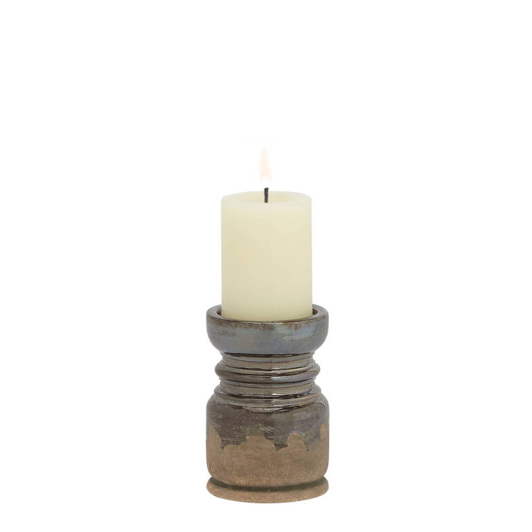 Margo Candle Holder Small Pewter