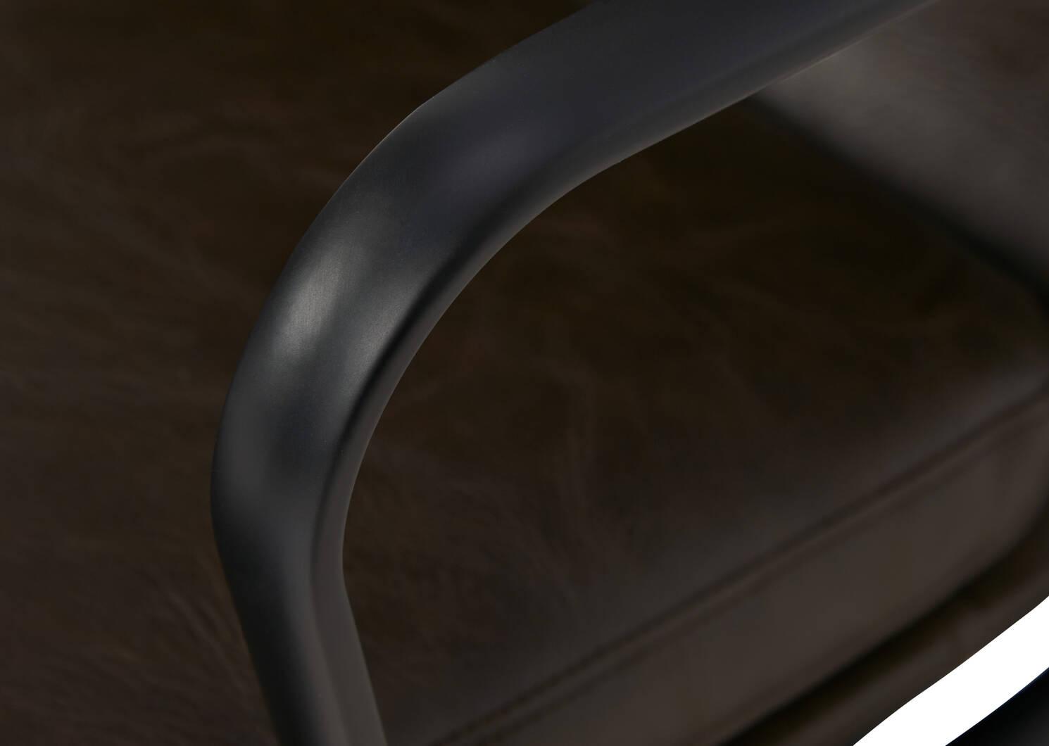 Fauteuil de bureau Handler -Wyeth brun