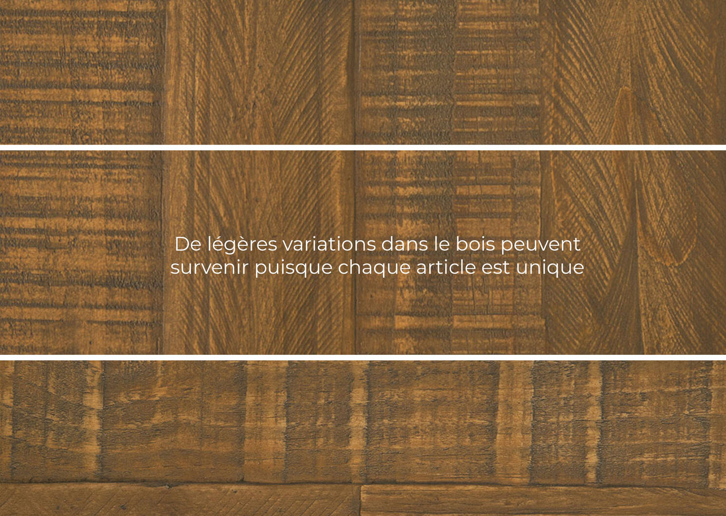Table basse Blaine -Malta pin