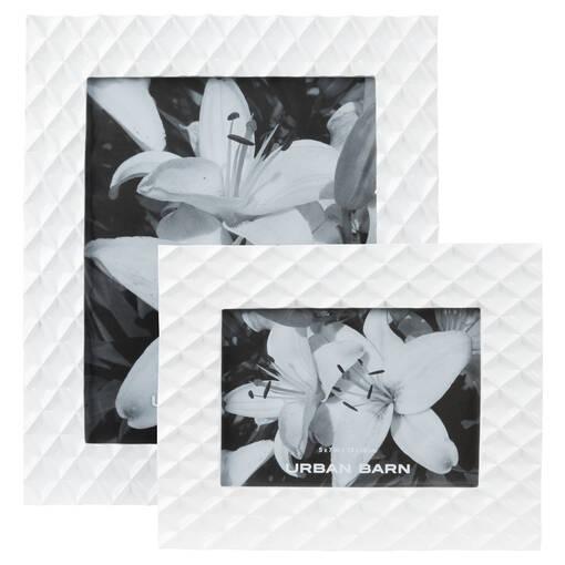 Cadre Kiara 8x10 blanc