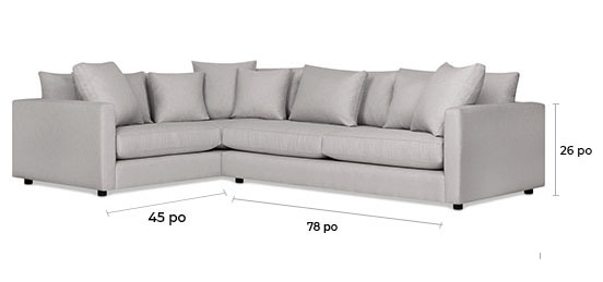 Sectional Front