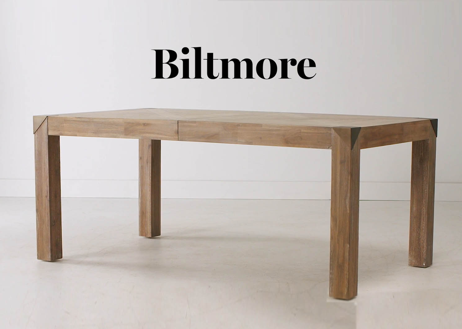 Biltmore Ext Dining Table -Jaida Khaki
